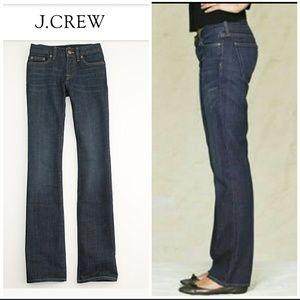 J. Crew Stretch Hip Slung Denim Jeans sz 28S